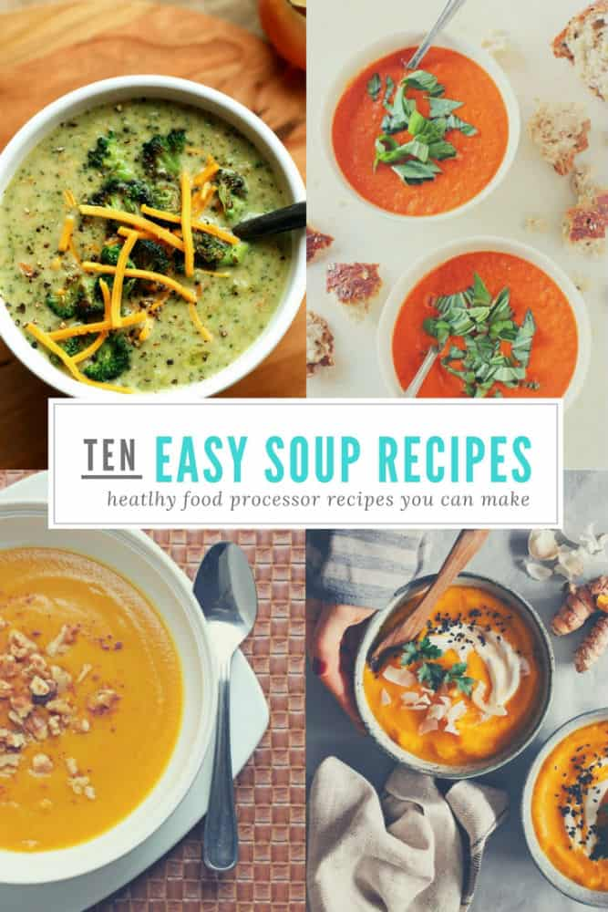 10 food processor soup recipes no cooking skills required tiny 10 food processor soup recipes no cooking skills required tiny kitchen divas forumfinder Image collections