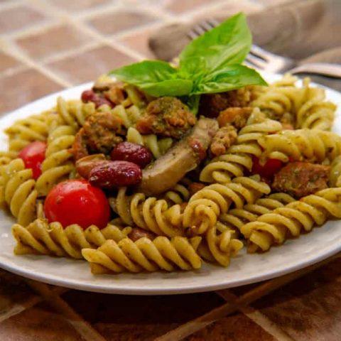 Quick Vegan Rotini Dinner Recipe