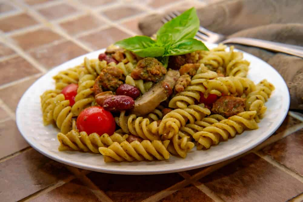 Quick Vegan Rotini Dinner Recipe