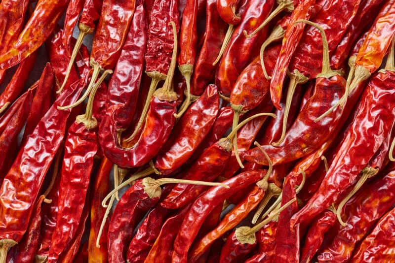 how to dry peppers
