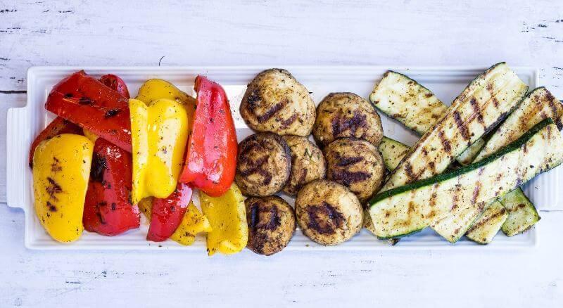 Keto Grilled Veggies