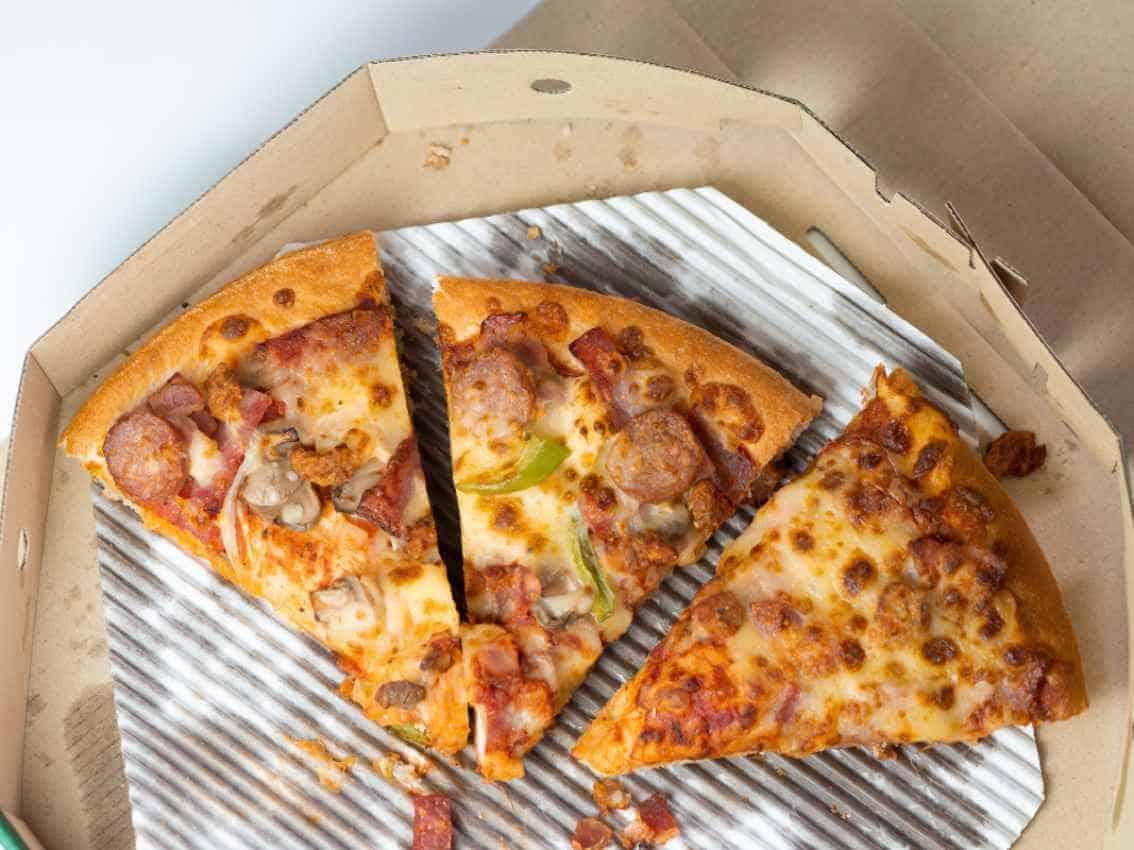 best way to reheat pizza