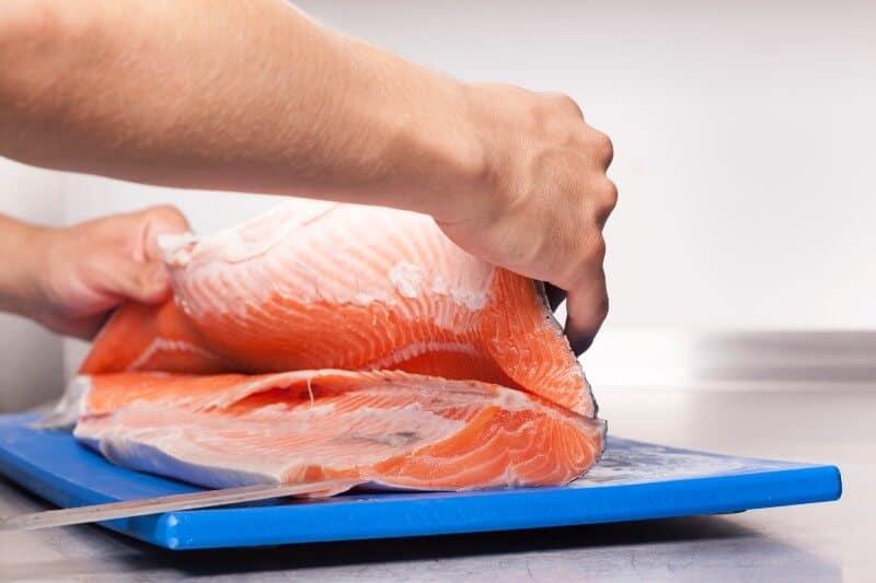 handling big fish for fillet