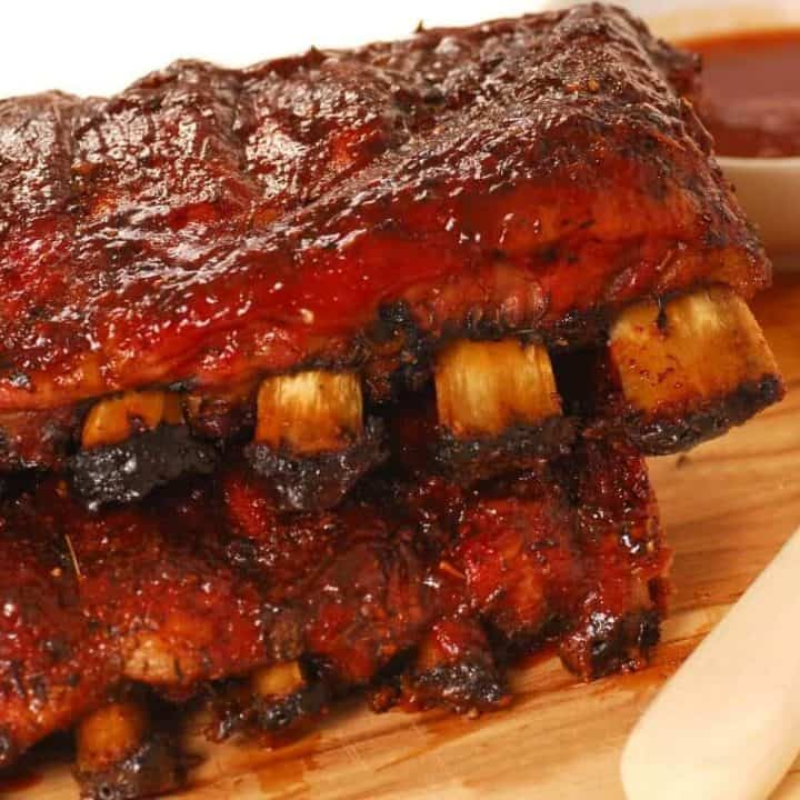 Sweet and Spicy BBQ Beef Short Ribs