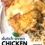 easy dutch oven chicken and rice recipe