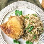 Dutch Oven Chicken Rice