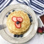 Cream Cheese Berries Pancake