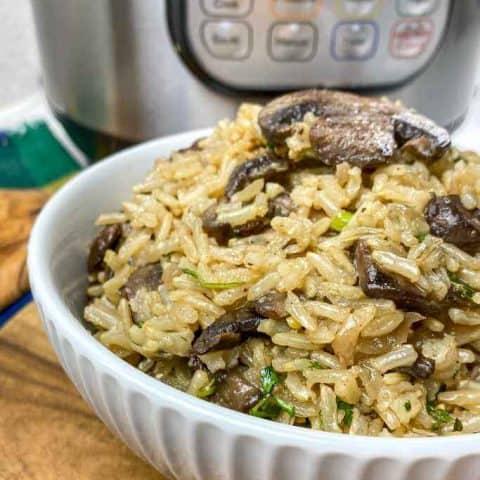 Instant Pot Ultimate Mushroom Rice Pilaf