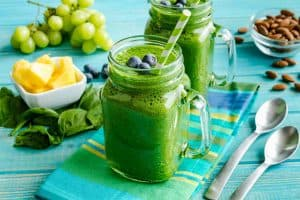 flat belly smoothies with spinach
