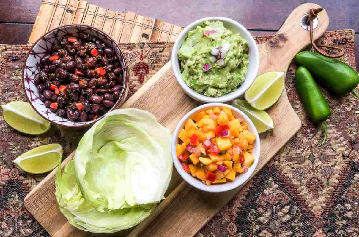 Black Bean Taco Wraps