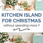 kitchen island for christmas