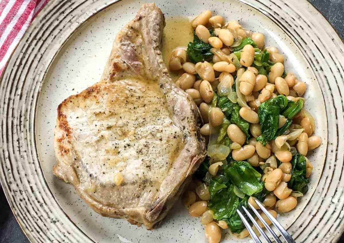 Pork Chop White Beans