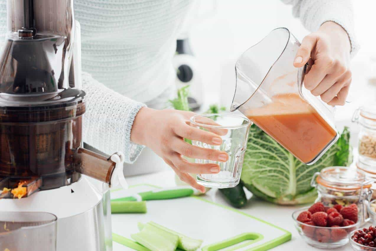 what are the health benefits of masticating juicer