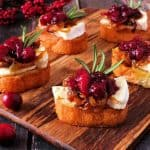 Crostini With Cranberry Relish