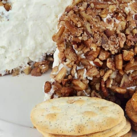 3-Ingredient Pecan-Crusted Goat Cheese Logs