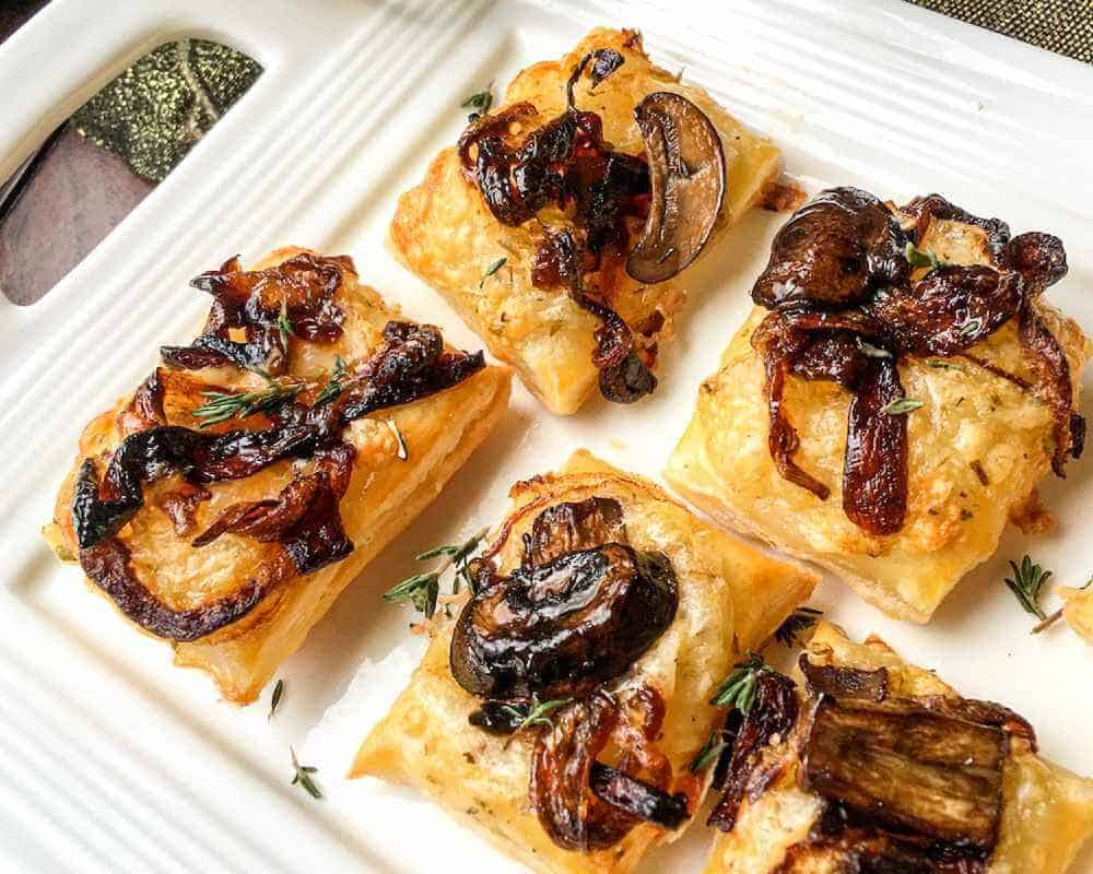 Savory Puff Pastry Bites