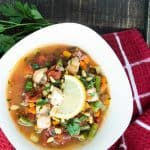 Sicilian Halibut Fish Stew