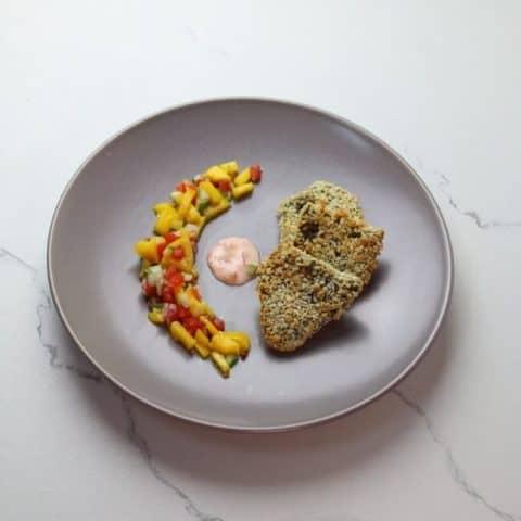 air fryer tilapia serving suggestion