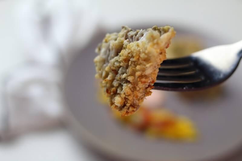 bite-sized air fryer tilapia