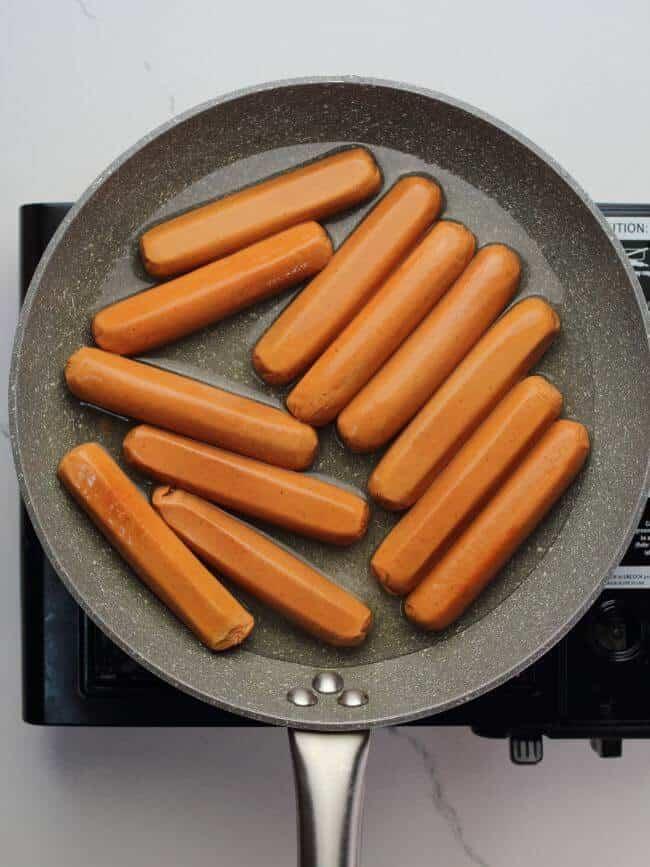 beef sausage corn dogs