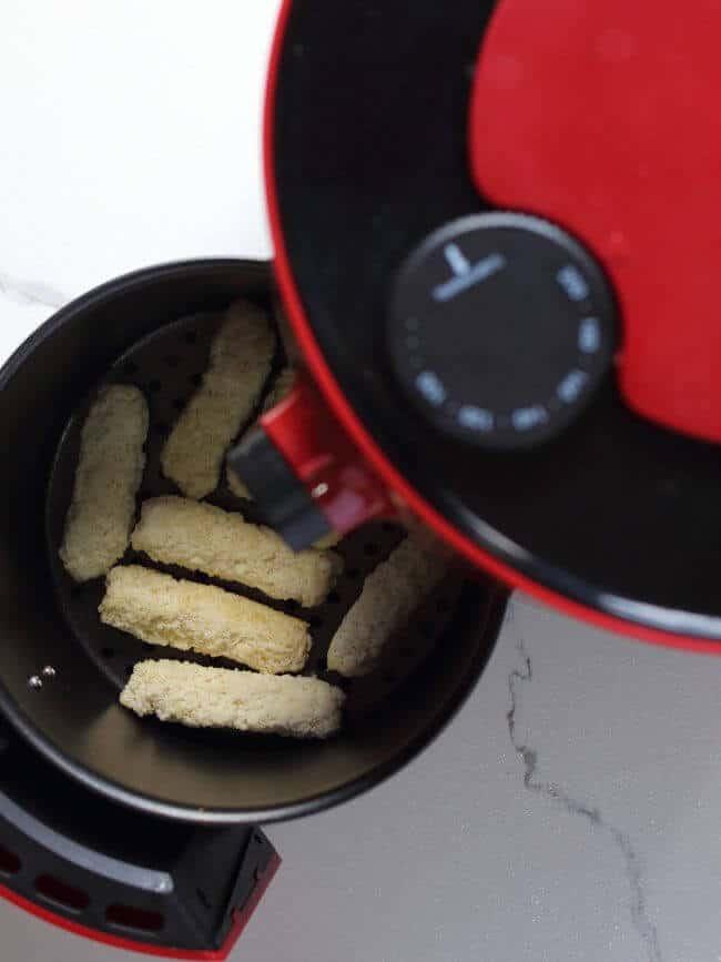 Cooking Fish Sticks