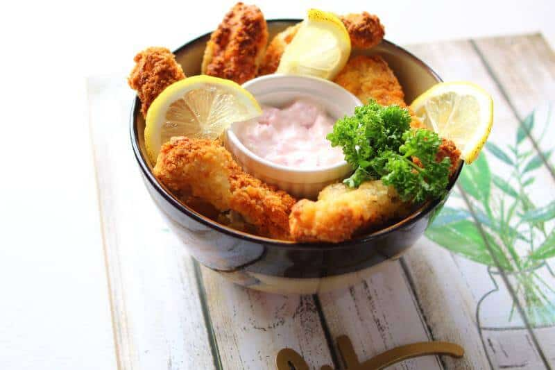 Fish Sticks Bowl