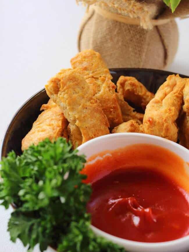 Chicken Tenders Plating