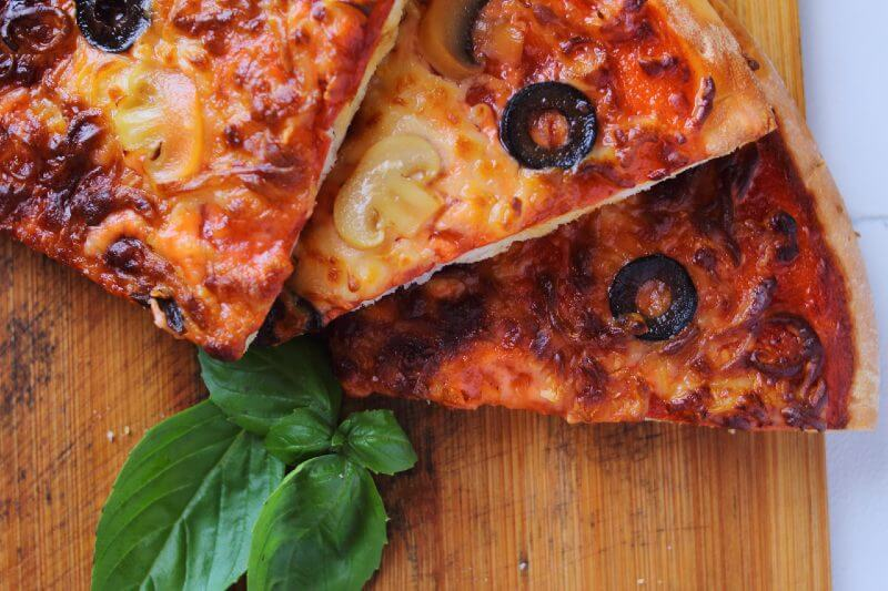 Pizza in Air Fryer Slices
