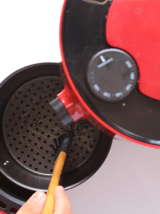 Brush Air Fryer with Oil