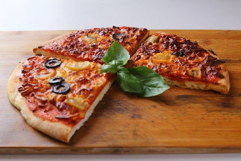Pizza in Air Fryer Serving
