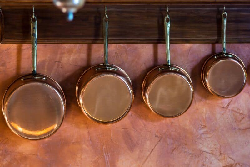 Copper Bottom Pans