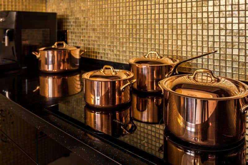 Copper Pots On Induction