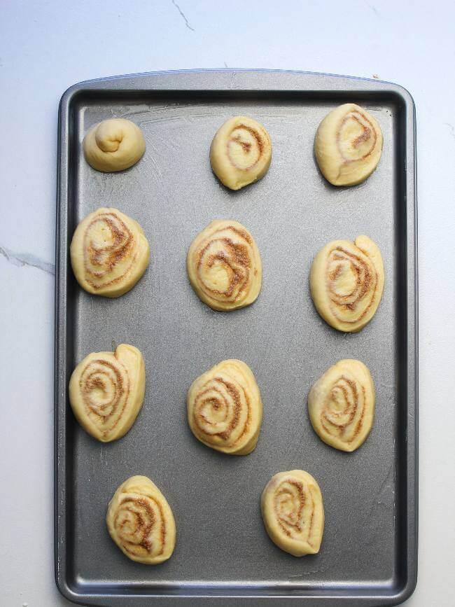 Place In Baking Tray