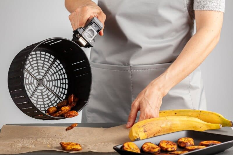 Sweet potato cooked on air fryer