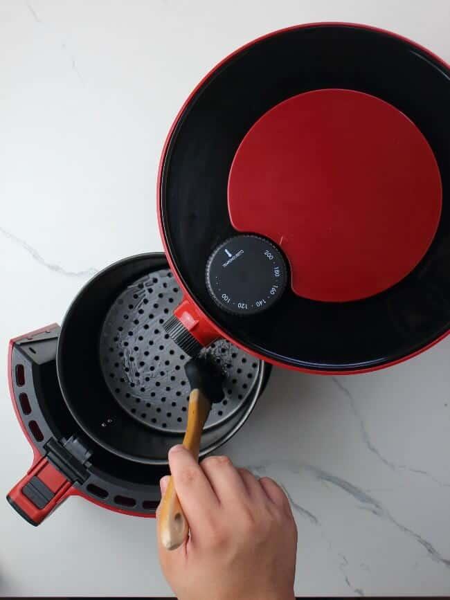 Brush The Air Fryer