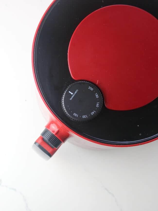 pre heating air fryer