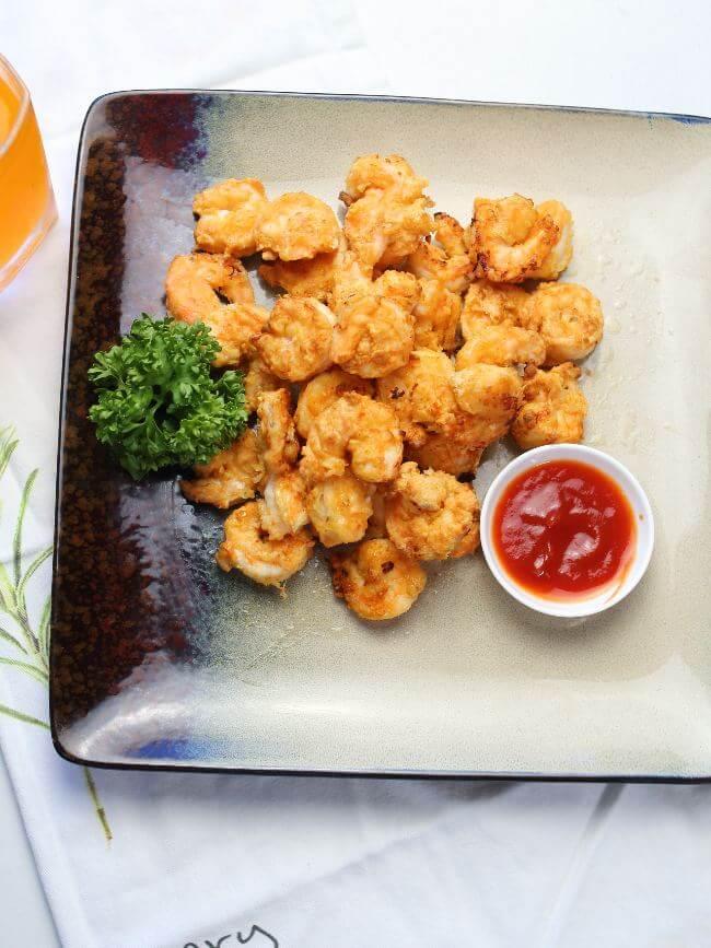 air fried frozen shrimp