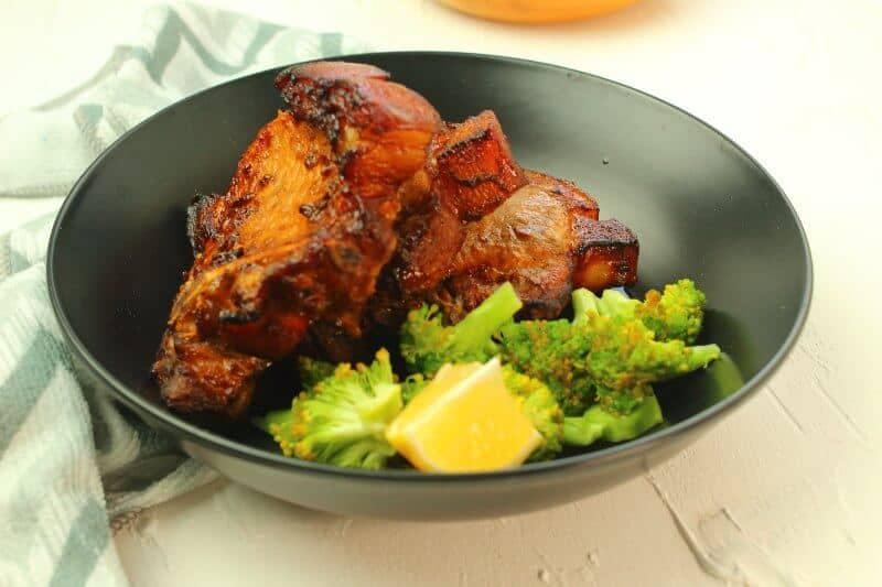 Pork Chop With Veggies