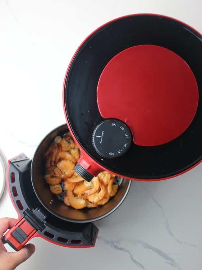 air fried shrimps