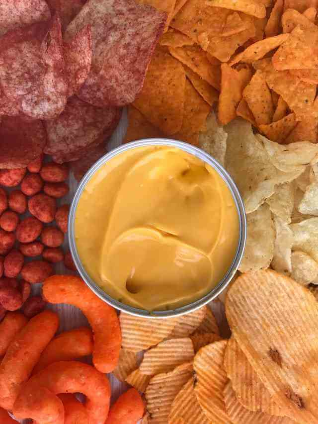 snacks with dip