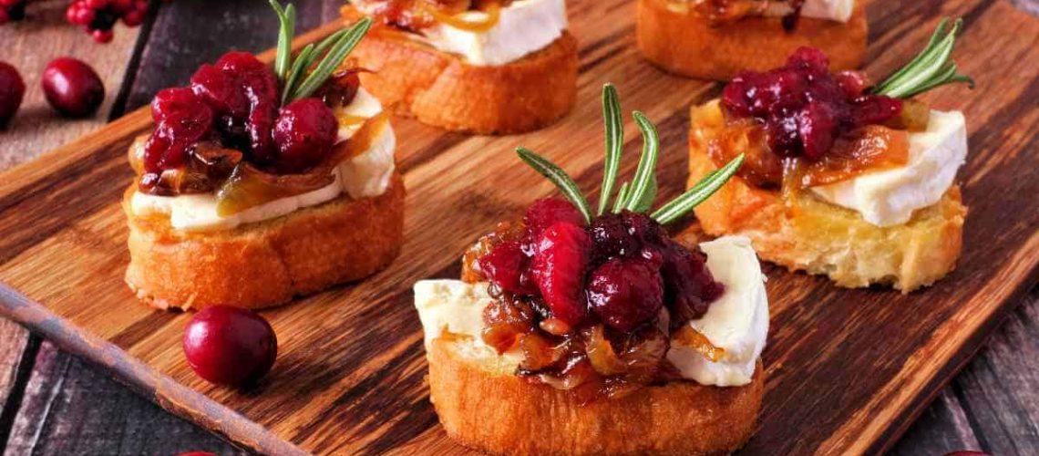 Crostini With Cranberry Relish