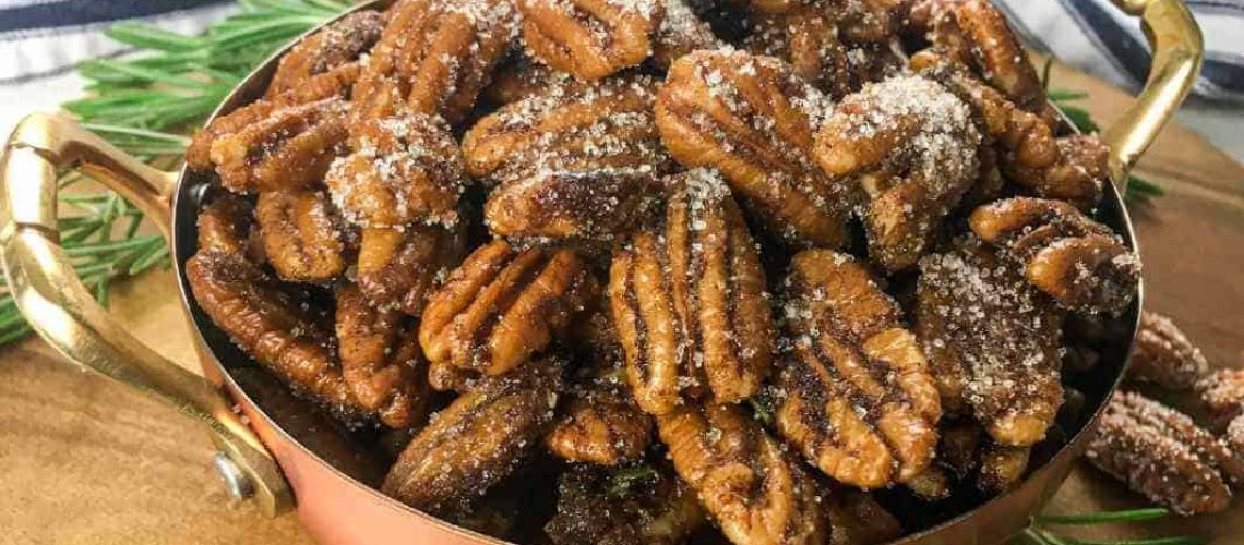 savory spiced pecans