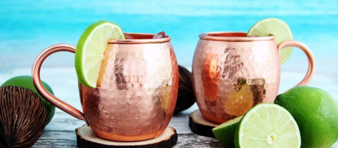 are copper moscow mule mugs dishwasher safe